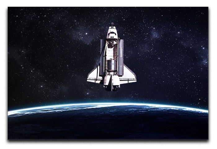 Space Shuttle on a mission Canvas Print or Poster