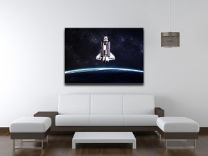 Space Shuttle on a mission Canvas Print or Poster - Canvas Art Rocks - 4