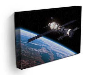 Space Station In Space Canvas Print or Poster - Canvas Art Rocks - 3