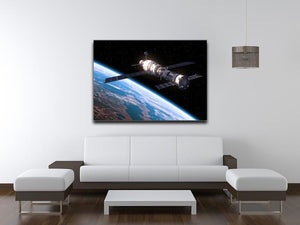 Space Station In Space Canvas Print or Poster - Canvas Art Rocks - 4