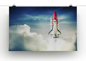 Space shuttle taking off on a mission Canvas Print or Poster - Canvas Art Rocks - 2