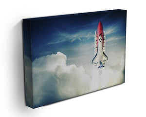 Space shuttle taking off on a mission Canvas Print or Poster - Canvas Art Rocks - 3