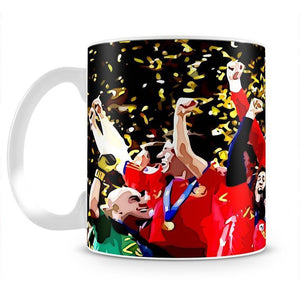 Spain World Cup Winners Mug - Canvas Art Rocks - 2