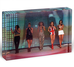 Spice Girls Acrylic Block - Canvas Art Rocks - 1