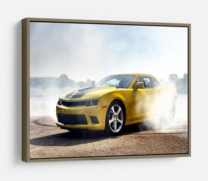 Sport Car Drifting HD Metal Print