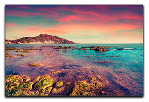 Spring sunset from the Giallonardo Canvas Print or Poster  - Canvas Art Rocks - 1