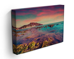 Spring sunset from the Giallonardo Canvas Print or Poster - Canvas Art Rocks - 3