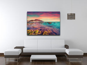 Spring sunset from the Giallonardo Canvas Print or Poster - Canvas Art Rocks - 4