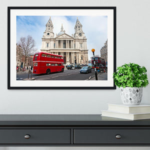 St Paul Cathedral Framed Print - Canvas Art Rocks - 1