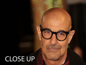 Stanley Tucci 3 Split Panel Canvas Print - Canvas Art Rocks - 3