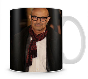 Stanley Tucci Mug - Canvas Art Rocks - 1