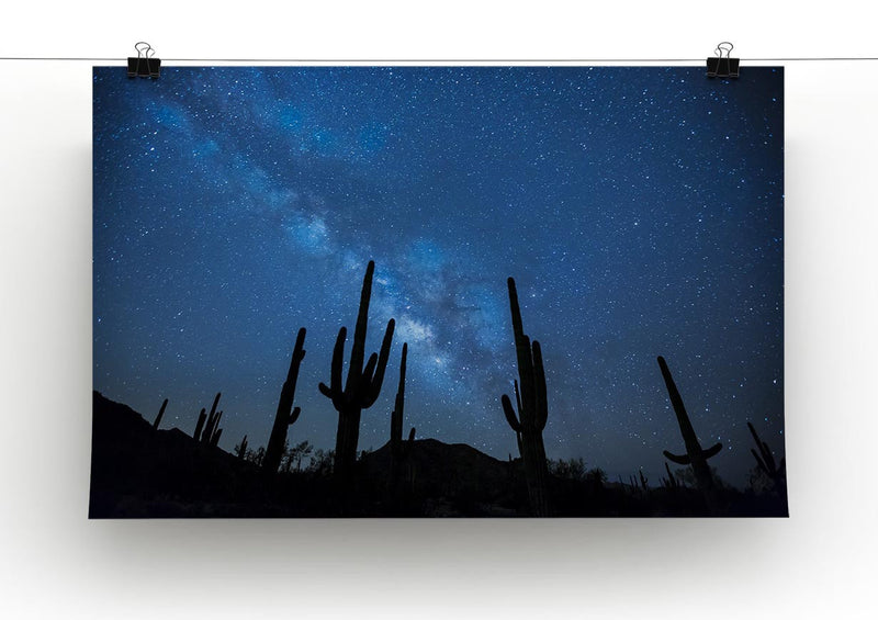 Star Night Captus Print - Canvas Art Rocks - 2