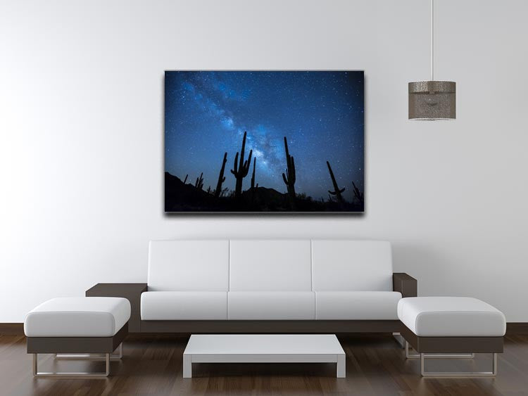 Star Night Captus Print - Canvas Art Rocks - 4