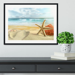 Starfish Framed Print - Canvas Art Rocks - 1