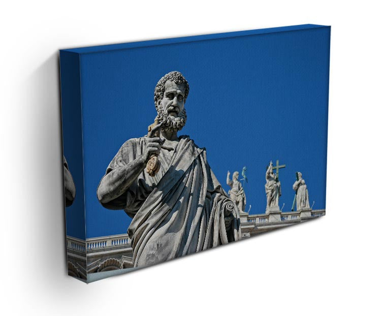 Statue In Italy Print - Canvas Art Rocks - 3