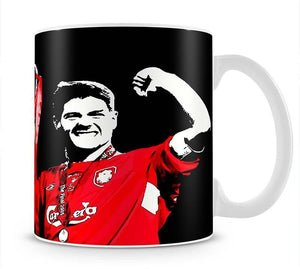 Steven Gerrard Champions League Mug - Canvas Art Rocks - 1