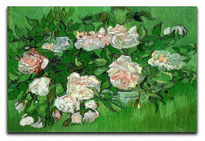 Still Life Pink Roses by Van Gogh Canvas Print & Poster  - Canvas Art Rocks - 1