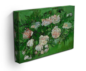 Still Life Pink Roses by Van Gogh Canvas Print & Poster - Canvas Art Rocks - 3