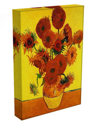 Still Life Vase with Fifteen Sunflowers 3 by Van Gogh Canvas Print & Poster - Canvas Art Rocks - 3