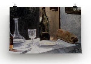 Still Life With Bottles by Monet Canvas Print & Poster - Canvas Art Rocks - 2