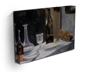 Still Life With Bottles by Monet Canvas Print & Poster - Canvas Art Rocks - 3
