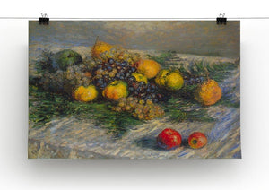 Still Life by Monet Canvas Print & Poster - Canvas Art Rocks - 2