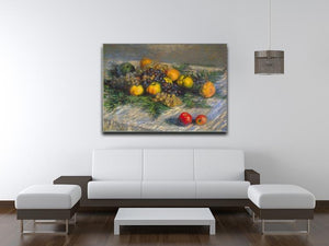 Still Life by Monet Canvas Print & Poster - Canvas Art Rocks - 4