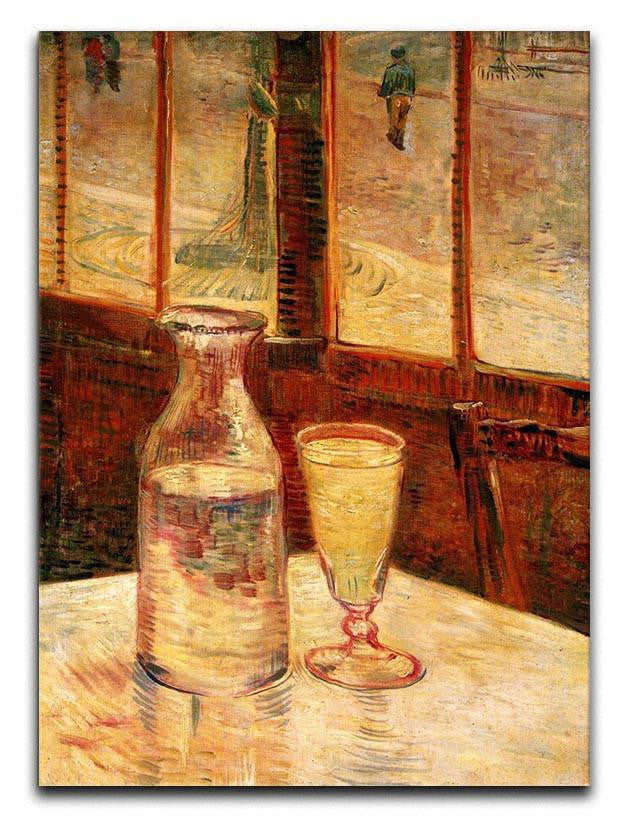 Still Life with Absinthe by Van Gogh Canvas Print or Poster