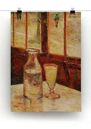 Still Life with Absinthe by Van Gogh Canvas Print & Poster - Canvas Art Rocks - 2