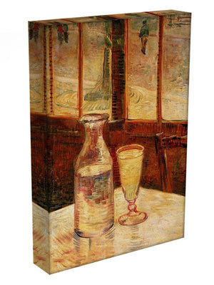 Still Life with Absinthe by Van Gogh Canvas Print & Poster - Canvas Art Rocks - 3