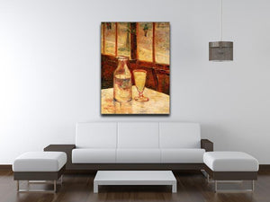 Still Life with Absinthe by Van Gogh Canvas Print & Poster - Canvas Art Rocks - 4