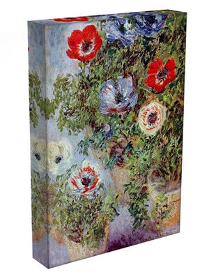Still Life with Anemones by Monet Canvas Print & Poster - Canvas Art Rocks - 3