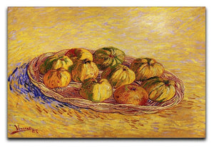 Still Life with Basket of Apples by Van Gogh Canvas Print & Poster  - Canvas Art Rocks - 1