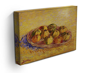 Still Life with Basket of Apples by Van Gogh Canvas Print & Poster - Canvas Art Rocks - 3
