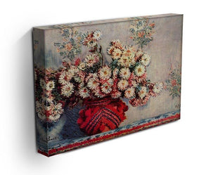 Still Life with Chrysanthemums by Monet Canvas Print & Poster - Canvas Art Rocks - 3