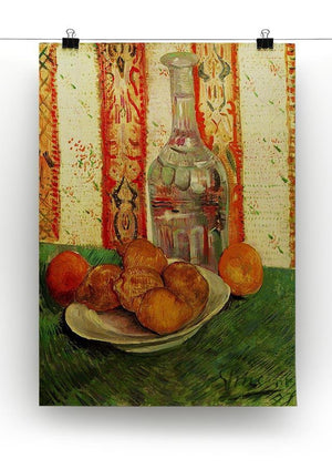 Still Life with Decanter and Lemons on a Plate by Van Gogh Canvas Print & Poster - Canvas Art Rocks - 2
