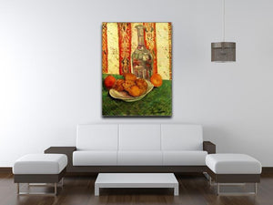 Still Life with Decanter and Lemons on a Plate by Van Gogh Canvas Print & Poster - Canvas Art Rocks - 4