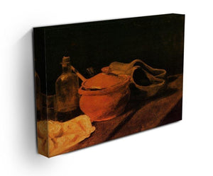 Still Life with Earthenware Bottle and Clogs by Van Gogh Canvas Print & Poster - Canvas Art Rocks - 3