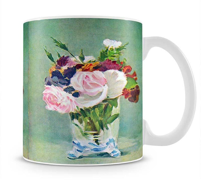 Still Life with Flowers 2 by Manet Mug