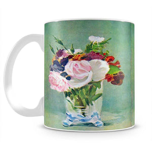 Still Life with Flowers 2 by Manet Mug - Canvas Art Rocks - 2