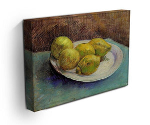 Still Life with Lemons on a Plate by Van Gogh Canvas Print & Poster - Canvas Art Rocks - 3
