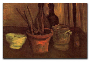 Still Life with Paintbrushes in a Pot by Van Gogh Canvas Print & Poster  - Canvas Art Rocks - 1