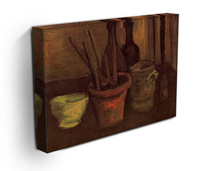 Still Life with Paintbrushes in a Pot by Van Gogh Canvas Print & Poster - Canvas Art Rocks - 3