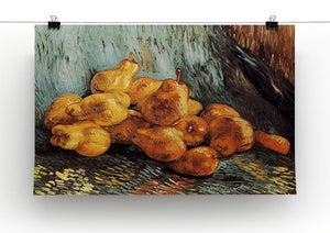 Still Life with Pears by Van Gogh Canvas Print & Poster - Canvas Art Rocks - 2