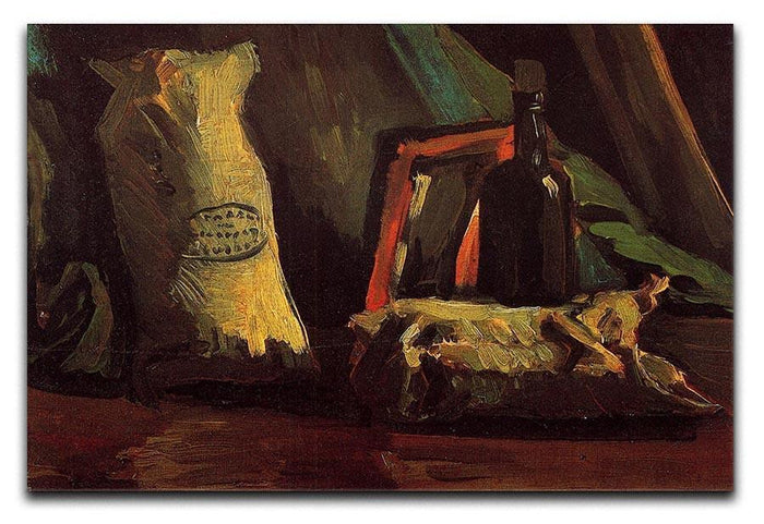 Still Life with Two Sacks and a Bottl by Van Gogh Canvas Print or Poster