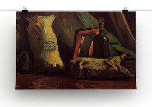 Still Life with Two Sacks and a Bottl by Van Gogh Canvas Print & Poster - Canvas Art Rocks - 2