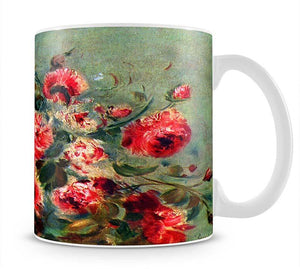Still life roses of Vargemont by Renoir Mug - Canvas Art Rocks - 1