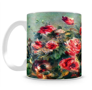 Still life roses of Vargemont by Renoir Mug - Canvas Art Rocks - 2