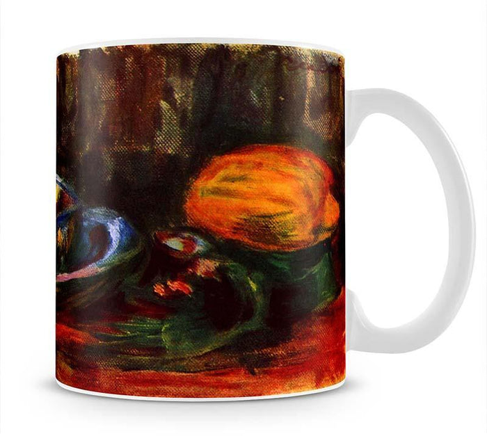 Still life with cup by Renoir Mug
