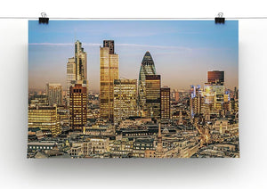 Stock Exchange Tower and Lloyds of London Canvas Print or Poster - Canvas Art Rocks - 2